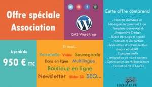 Site wordpress pour association