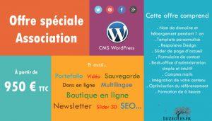 Site wordpress pour association