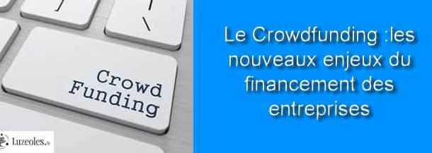 Le Crowdfunding finance les entreprises
