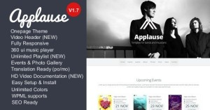 theme wordpress applause