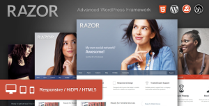 theme wordpress razor luzeoles