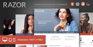 theme wordpress razor luzeoles